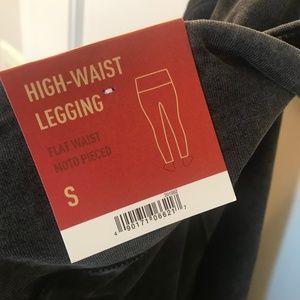 Mossimo High Waist Moto Legging (Size S, New)